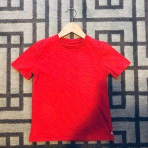 Gap Red Pocket T-shirt size 6 - 7
